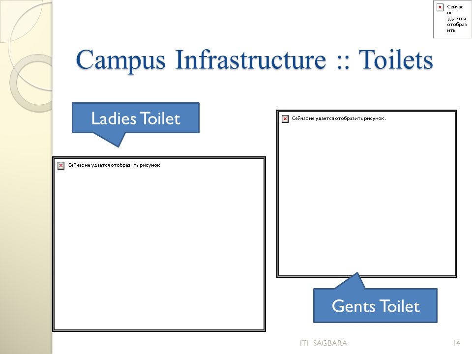 Campus Infrastructure :: Toilets