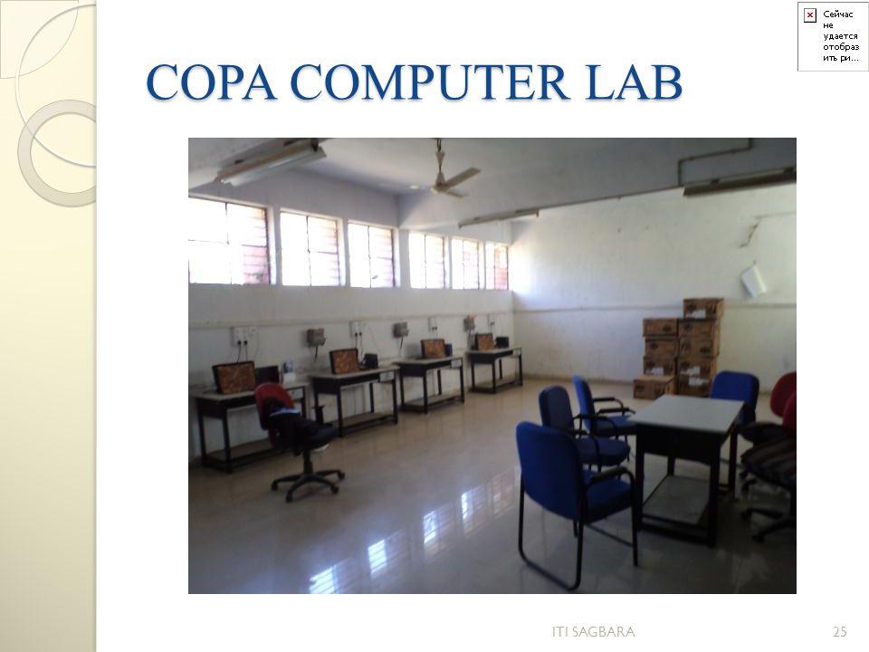 COPA COMPUTER LAB ITI SAGBARA