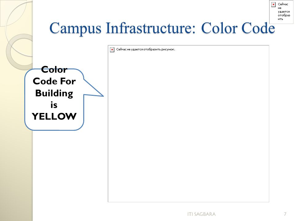 Campus Infrastructure: Color Code
