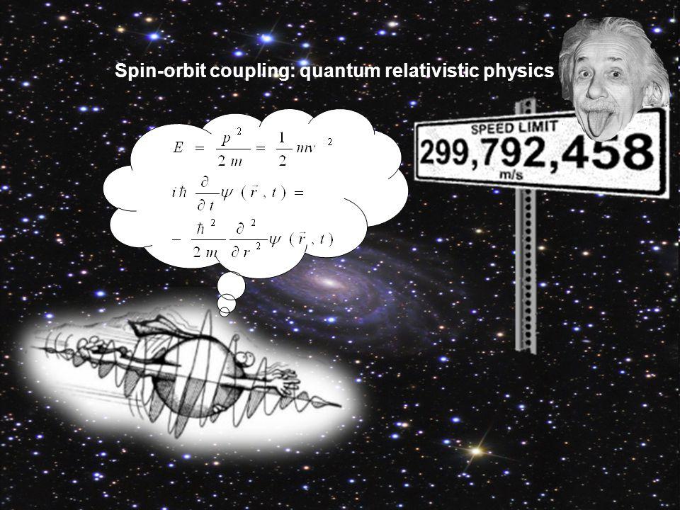 Spin-orbit coupling: quantum relativistic physics