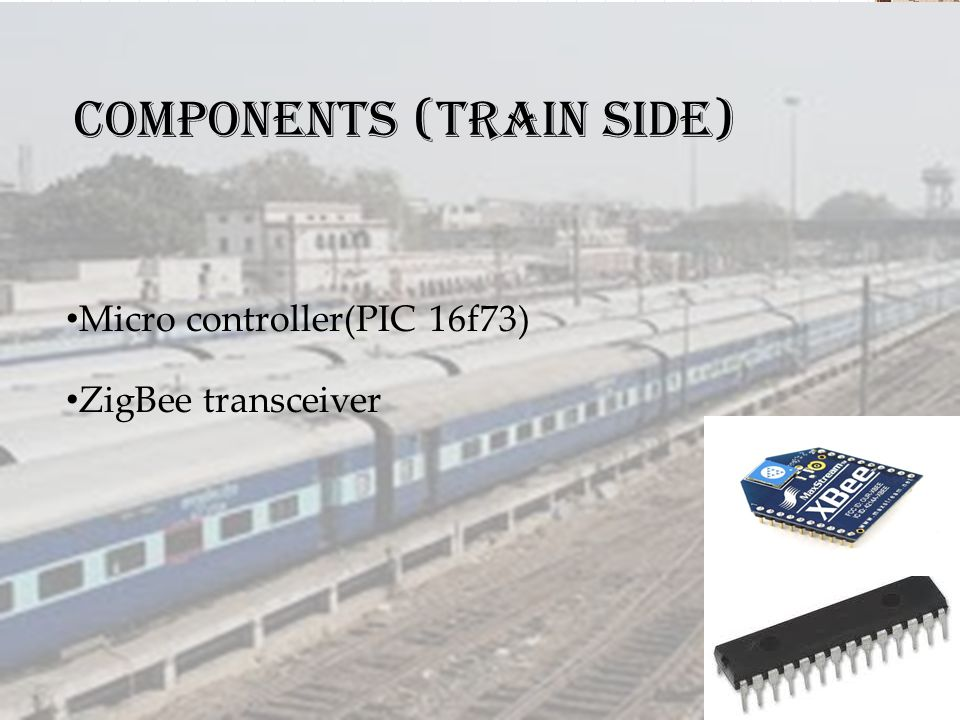 Components (Train side)