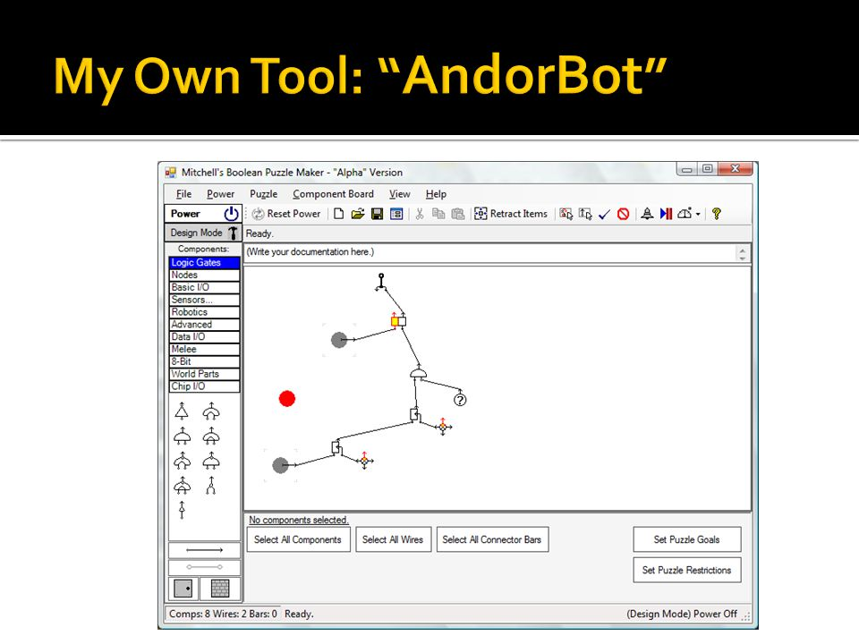My Own Tool: AndorBot