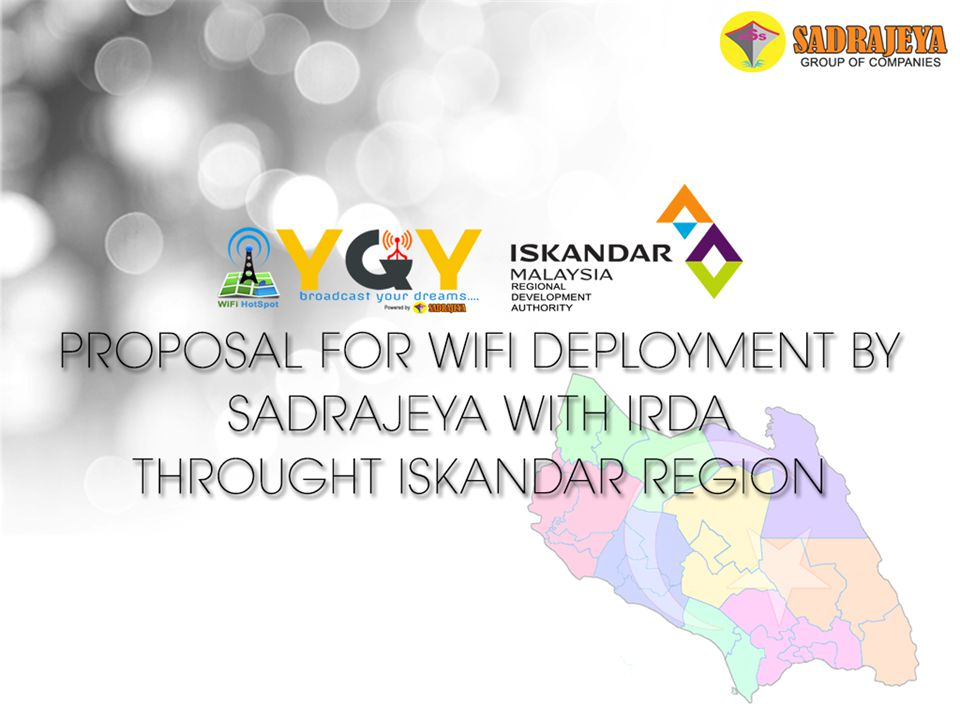 PROPOSAL FOR SADRAJEYA YGY WI-FI DEPLOYMENT