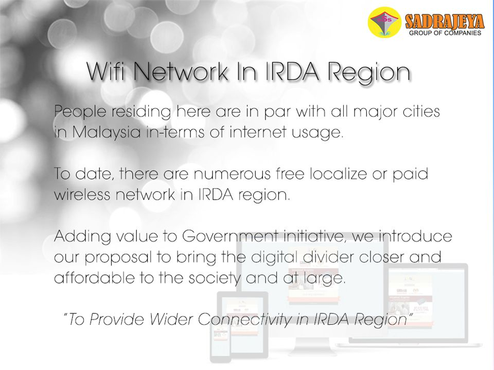 Wi-fi Network In IRDA Region