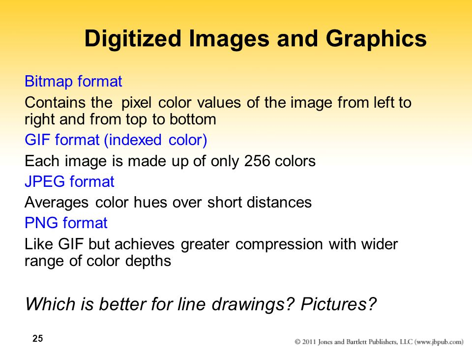 Digitized Images and Graphics