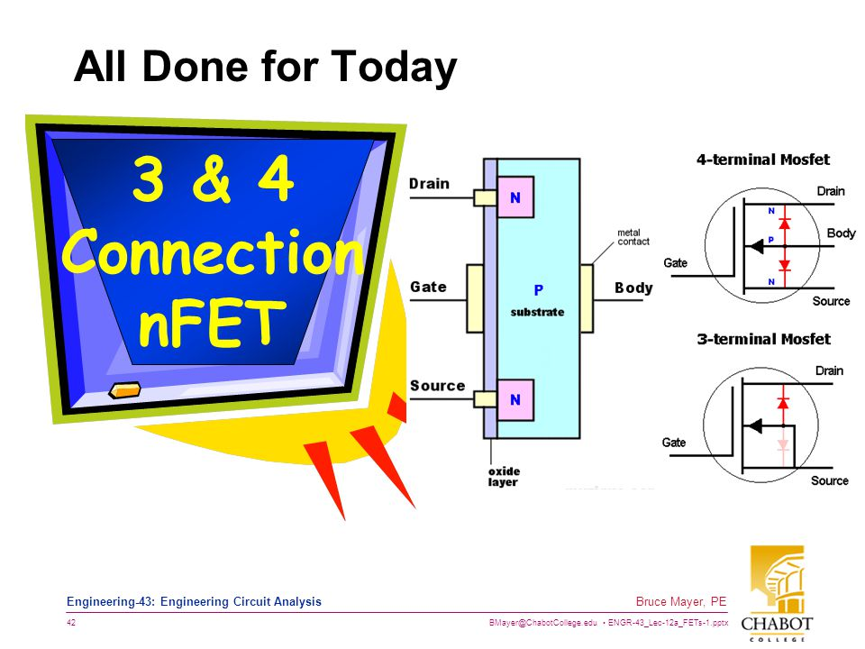 3 & 4 Connection nFET All Done for Today