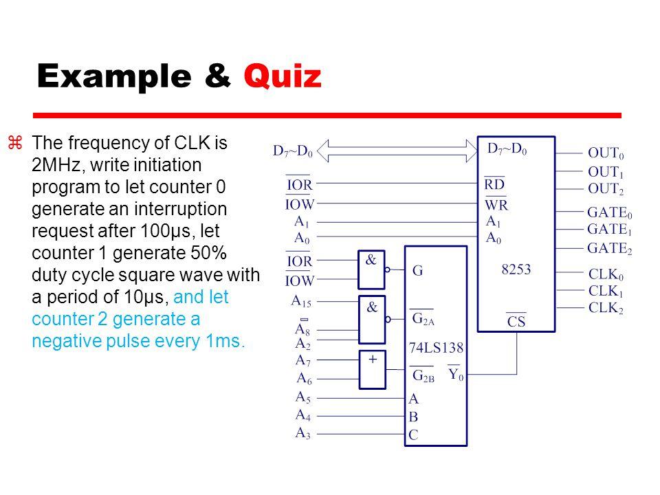 Example & Quiz