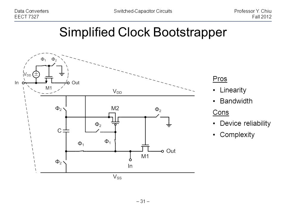 Simplified Clock Bootstrapper
