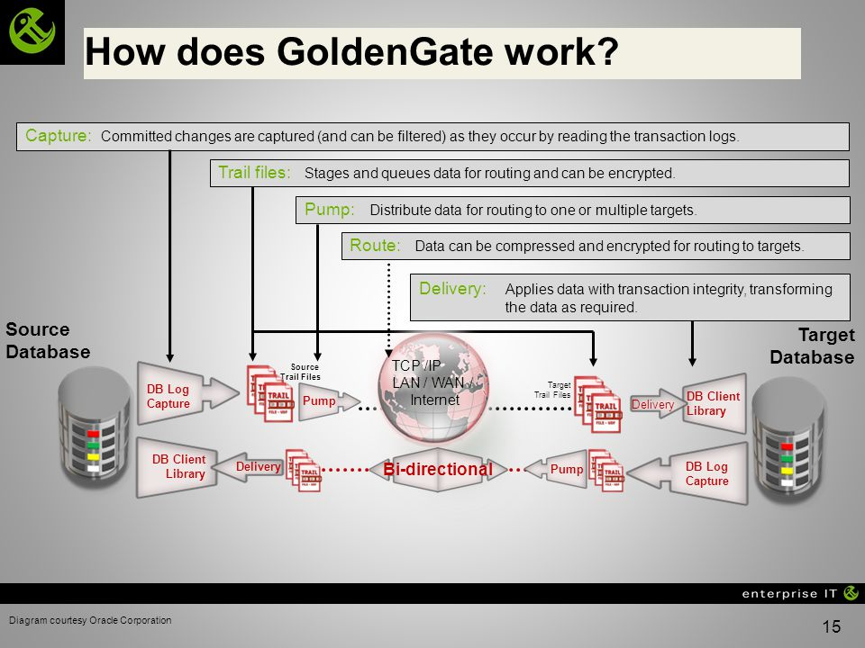 How does GoldenGate work