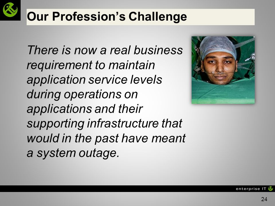 Our Profession's Challenge