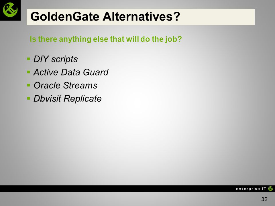 GoldenGate Alternatives