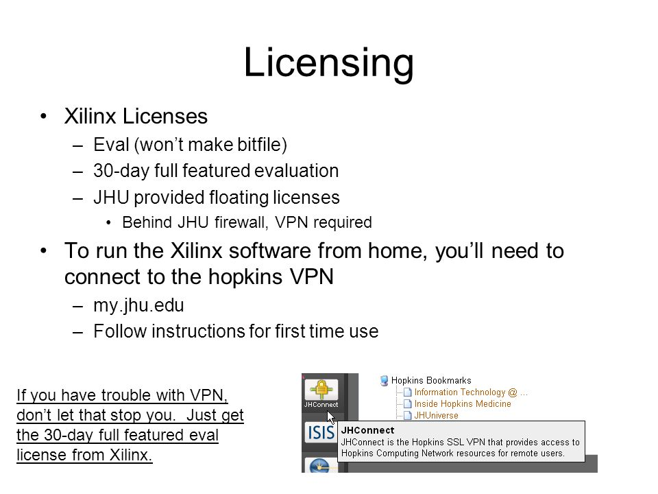 Licensing Xilinx Licenses