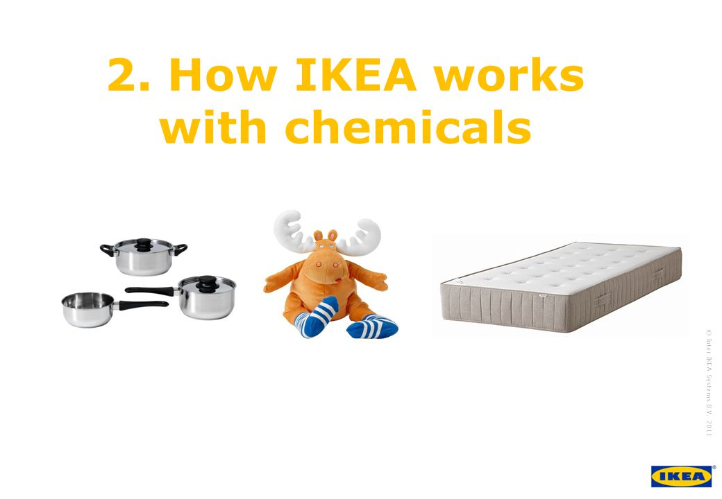 2. How IKEA works with chemicals