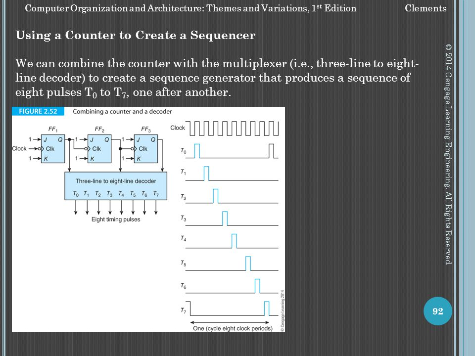 Using a Counter to Create a Sequencer