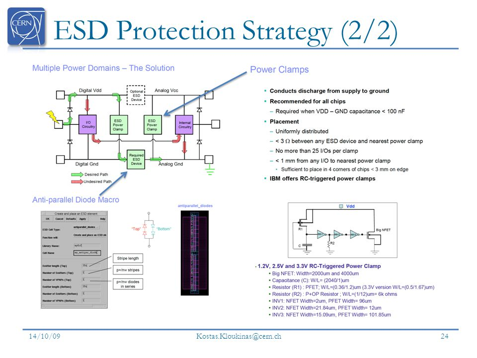 ESD Protection Strategy (2/2)