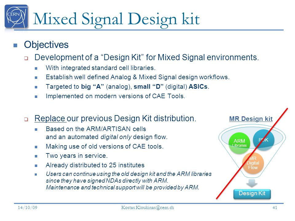 Mixed Signal Design kit