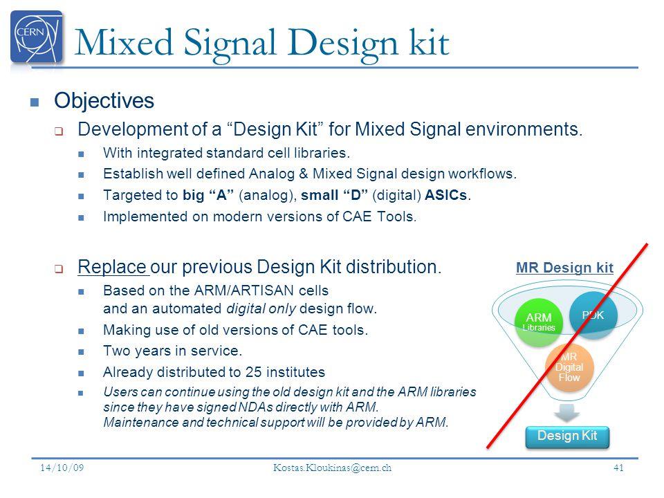 Mixed Signal Design kit