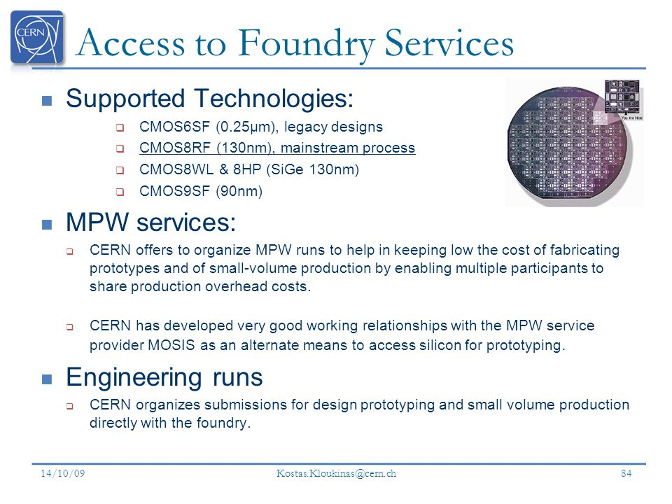 Access to Foundry Services