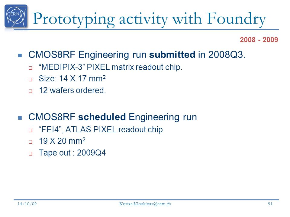 Prototyping activity with Foundry
