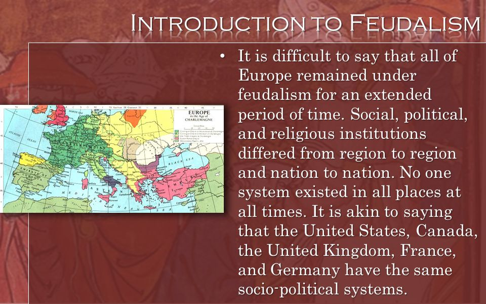 Introduction to Feudalism
