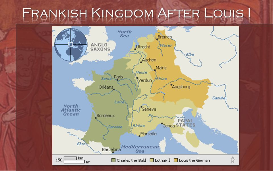 Frankish Kingdom After Louis I