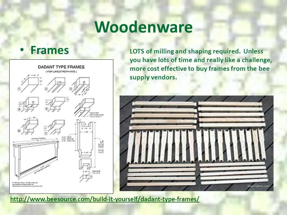 Woodenware Frames.