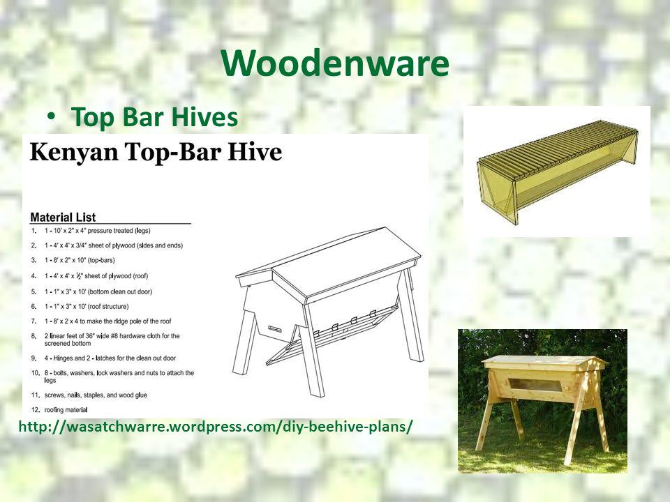 Woodenware Top Bar Hives