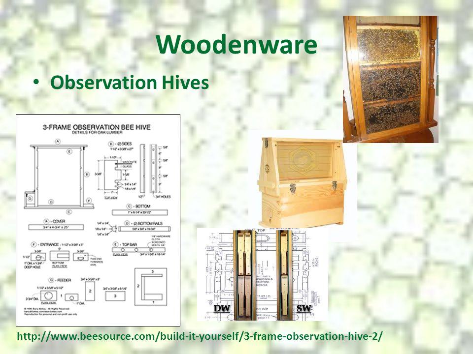 Woodenware Observation Hives