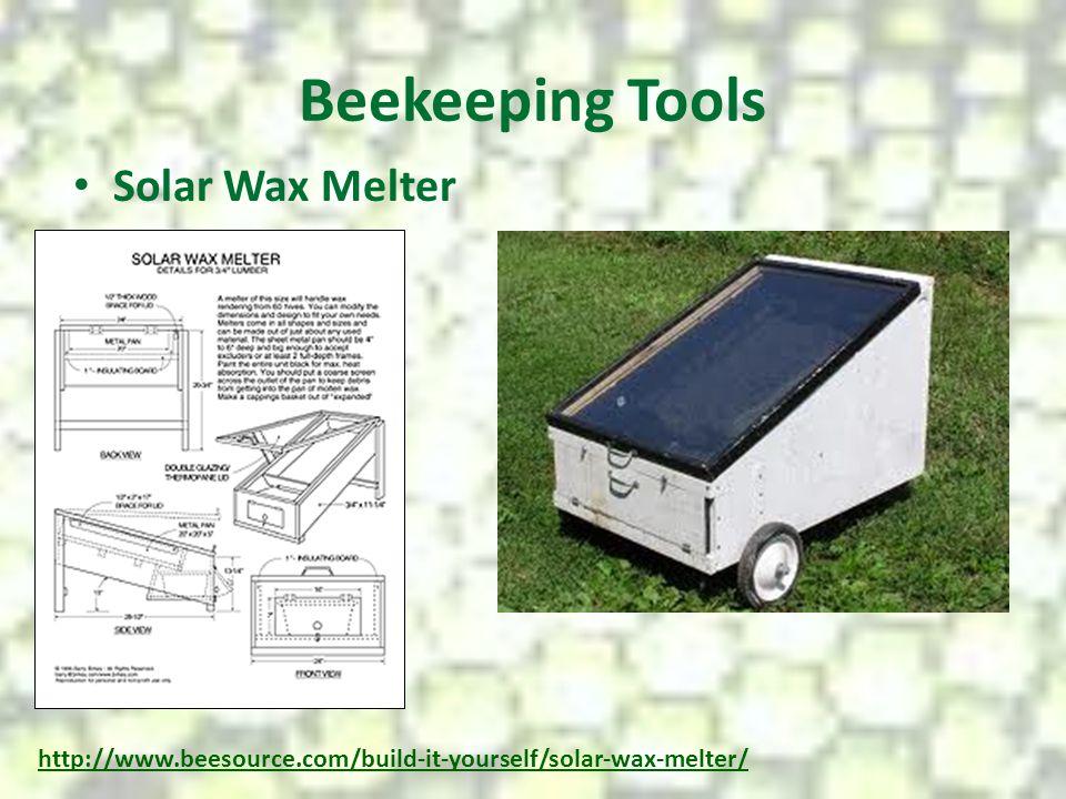 Beekeeping Tools Solar Wax Melter