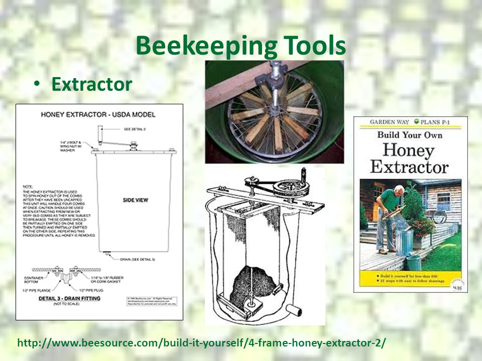 Beekeeping Tools Extractor
