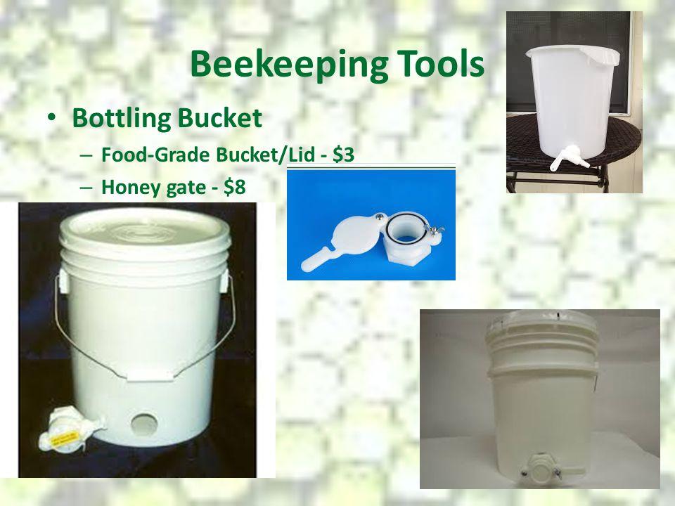 Beekeeping Tools Bottling Bucket Food-Grade Bucket/Lid - $3