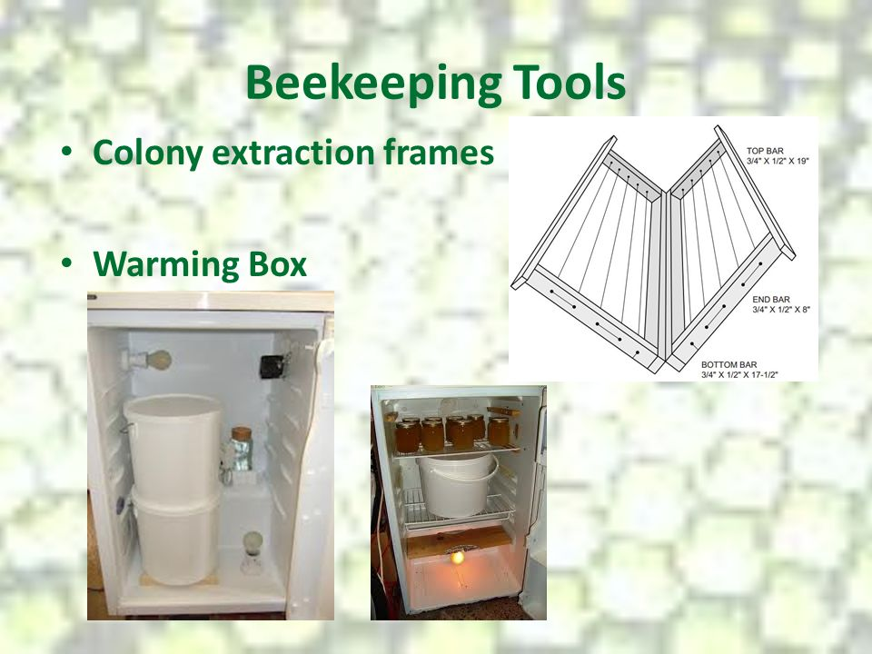 Beekeeping Tools Colony extraction frames Warming Box