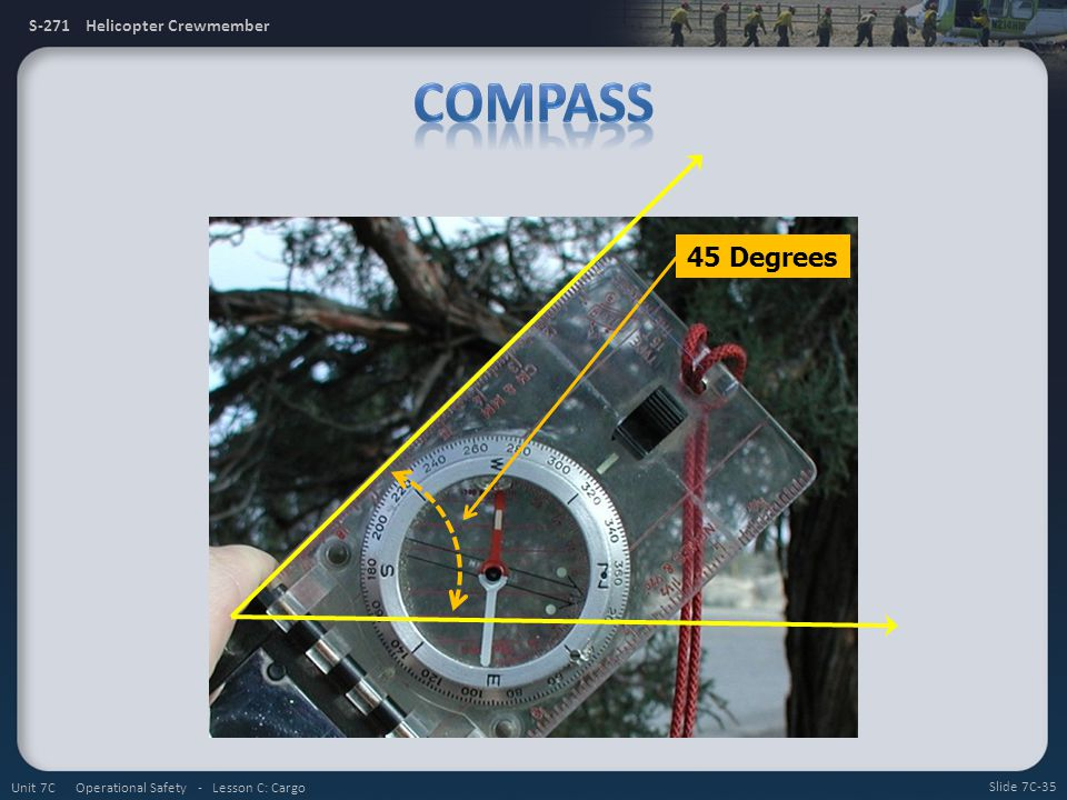 Compass 45 Degrees Unit 7C Operational Safety - Lesson C: Cargo