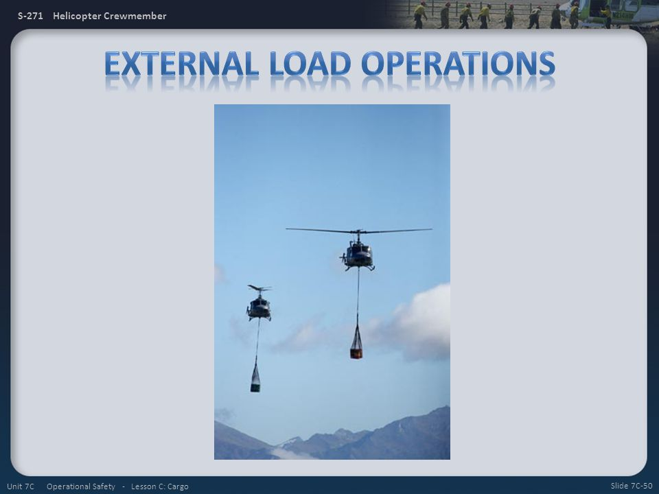 External Load Operations