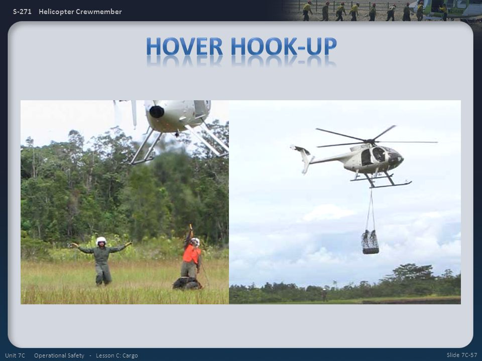 Hover Hook-Up Unit 7C Operational Safety - Lesson C: Cargo