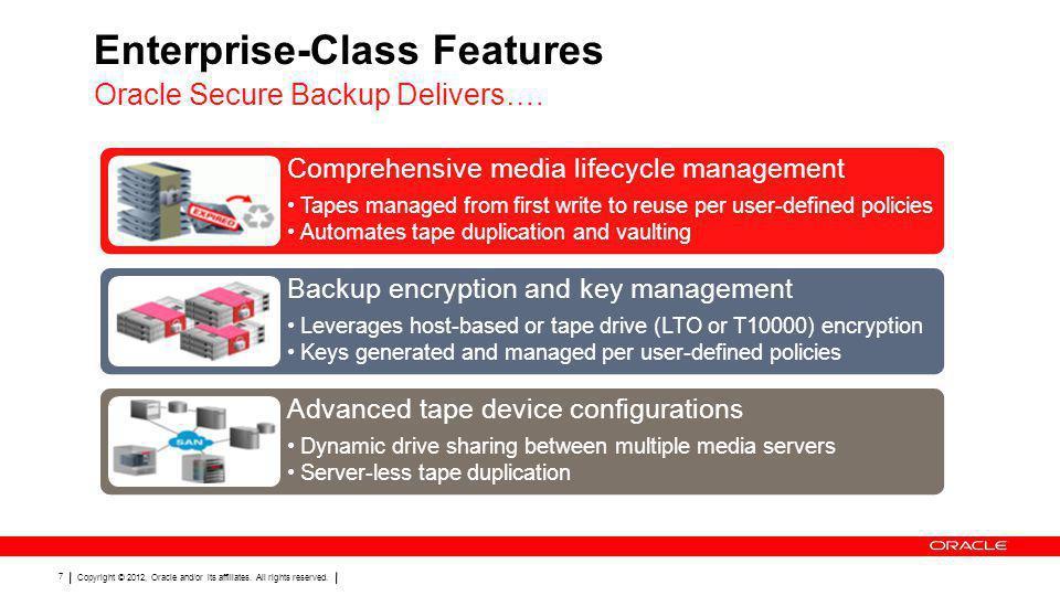 Enterprise-Class Features