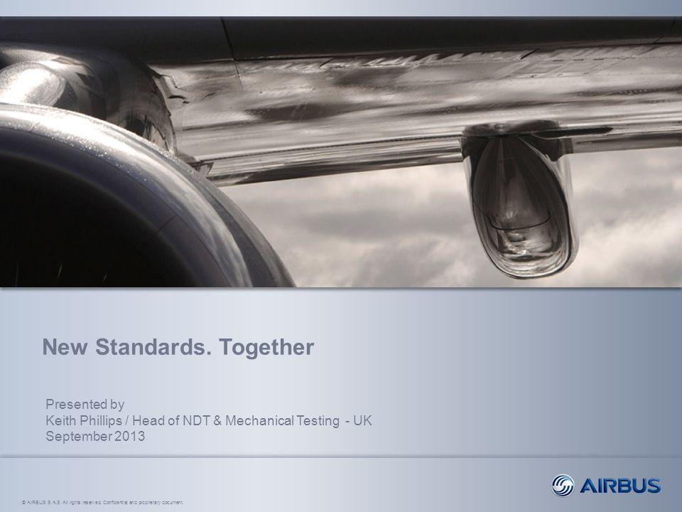 New Standards. Together