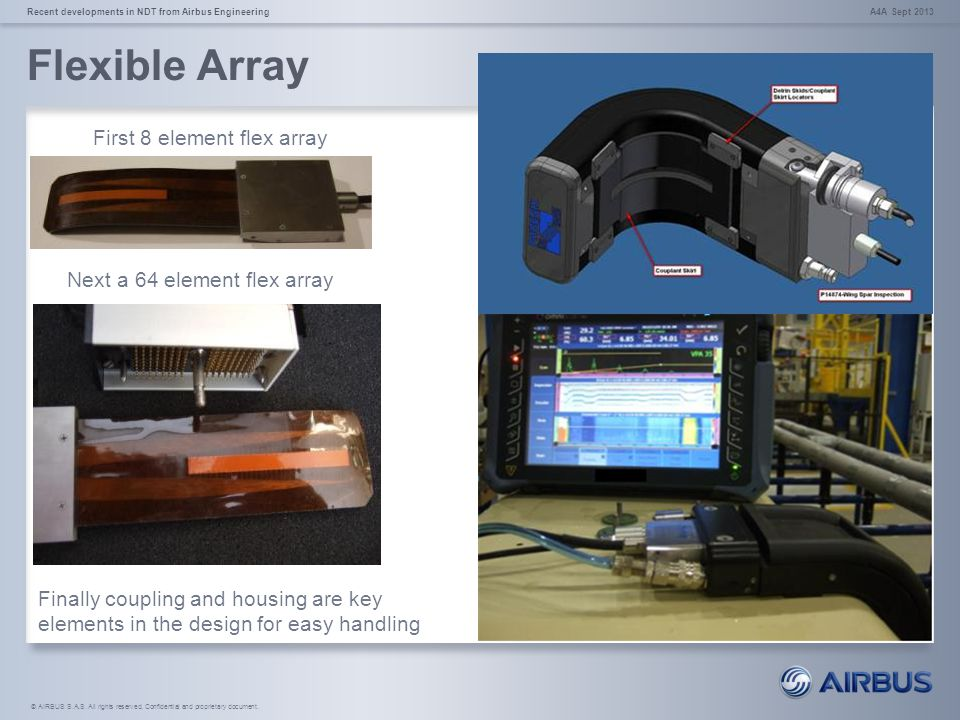 Flexible Array First 8 element flex array Next a 64 element flex array
