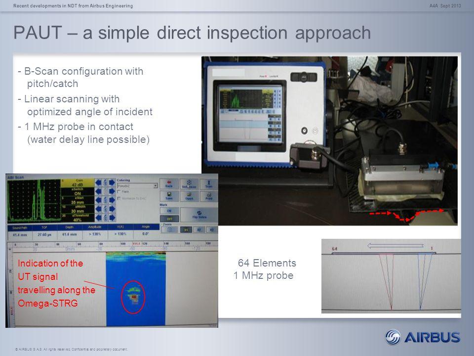 PAUT – a simple direct inspection approach