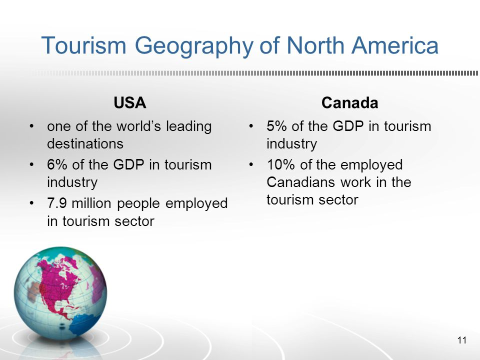 Tourism Geography of North America