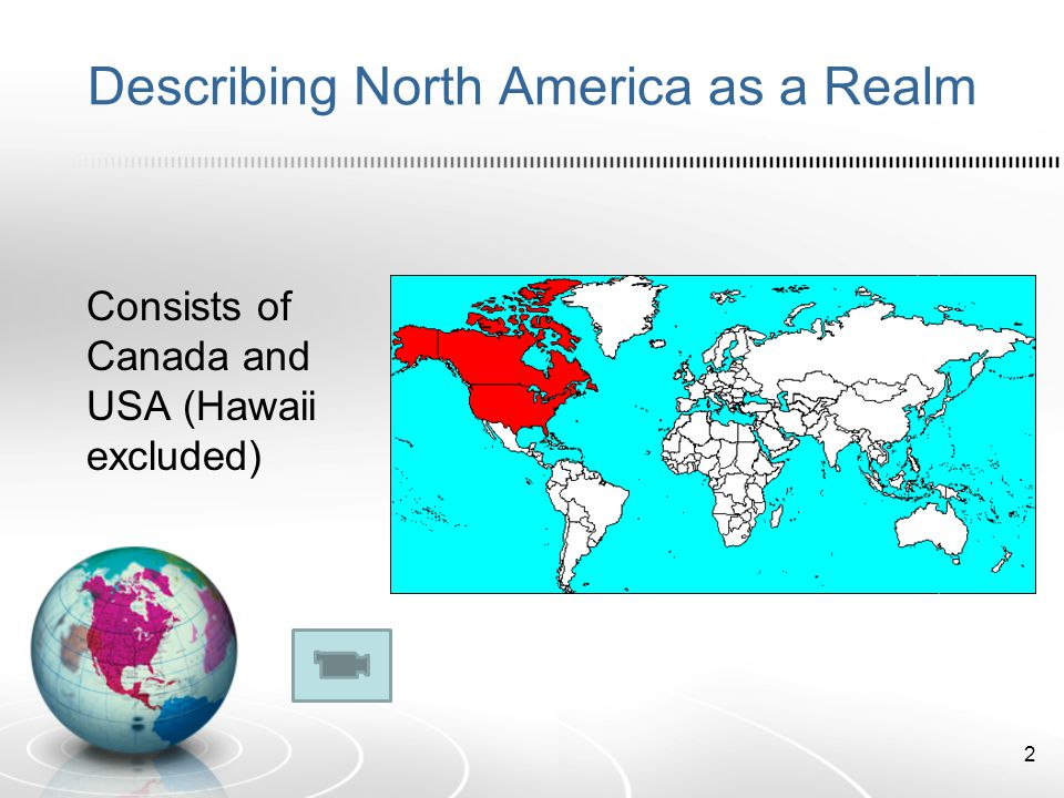 Describing North America as a Realm