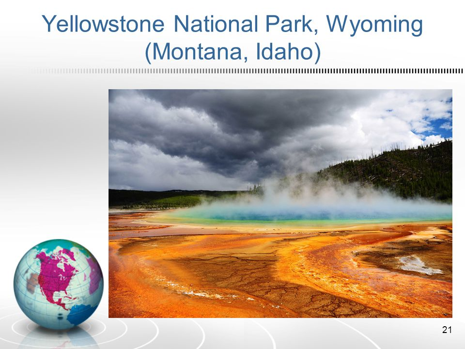 Yellowstone National Park, Wyoming (Montana, Idaho)