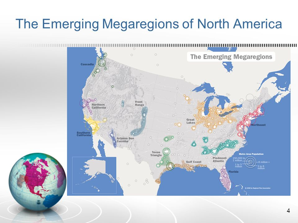 The Emerging Megaregions of North America