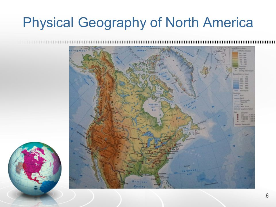 Physical Geography of North America