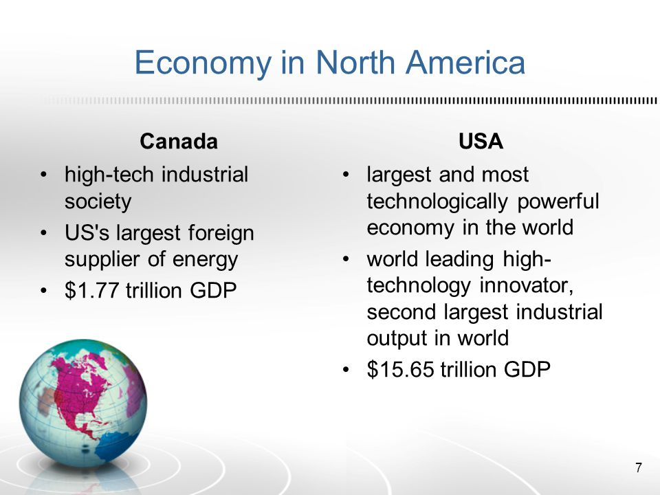 Economy in North America