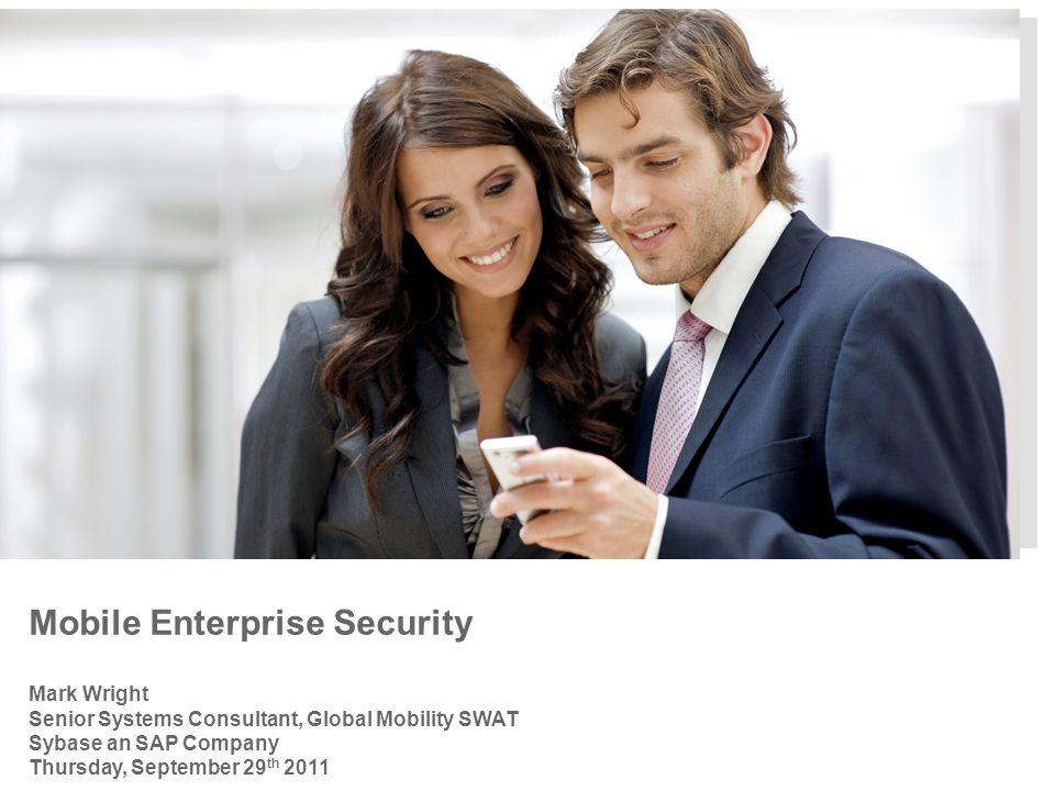 Mobile Enterprise Security