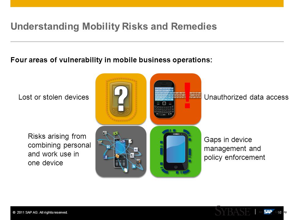Understanding Mobility Risks and Remedies