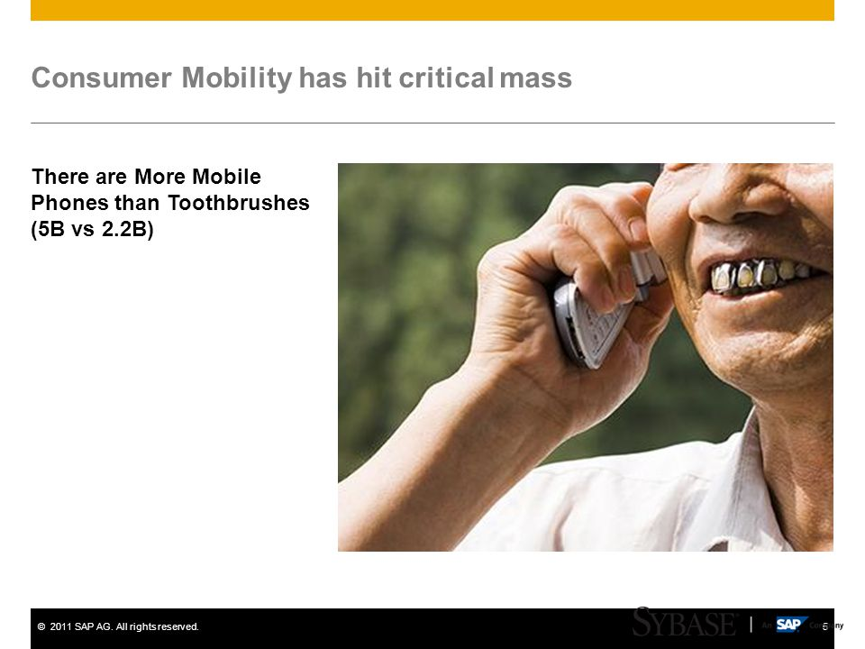 Consumer Mobility has hit critical mass