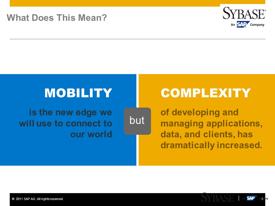 MOBILITY COMPLEXITY but What Does This Mean