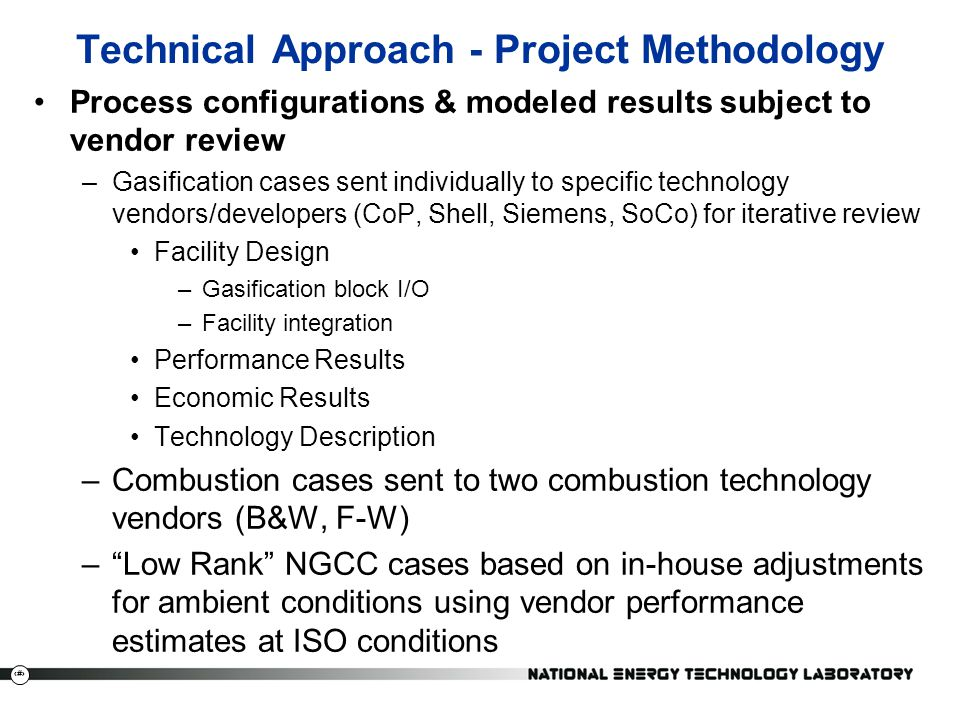 Technical Approach - Project Methodology